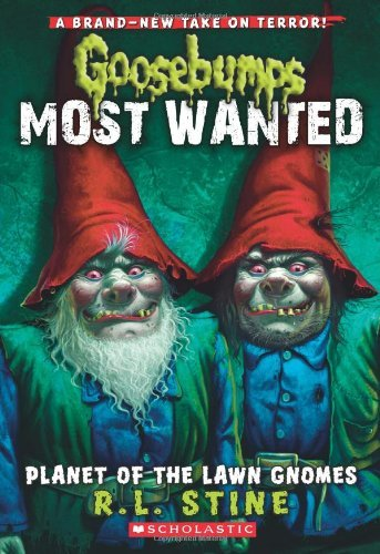 R. L. Stine Planet Of The Lawn Gnomes