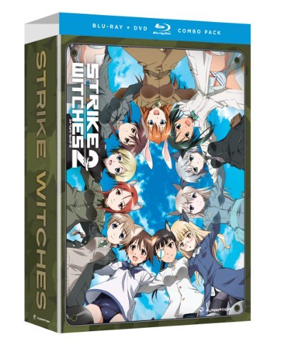 Strike Witches Season 2 Ws Blu Ray Lmtd Ed. Tvma 4 DVD Incl. DVD