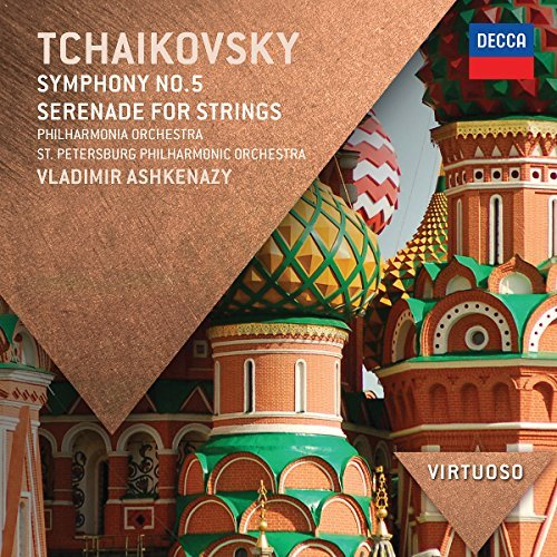 Pyotr Ilyich Tchaikovsky Symphony No.5 Serenade For Str St. Petersburg Philharmonic Or