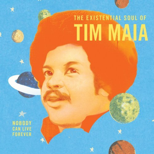 Tim Maia Nobody Can Live Forever Exist Hardbound Book