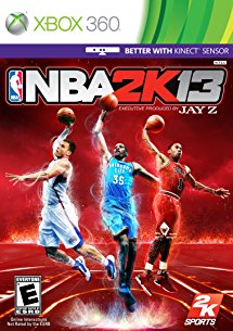 Xbox 360 Nba 2k13 Take 2 Interactive E