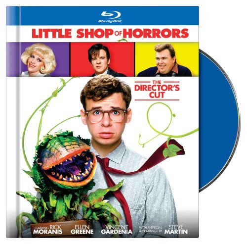 Little Shop Of Horrors (1986) Moranis Greene Gardenia Martin Blu Ray Ws Director's Cut Pg13
