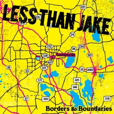 Less Than Jake Borders & Boundaries (reissue) Incl. DVD