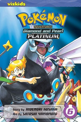Hidenori Kusaka Pokemon Adventures Diamond And Pearl Platinum Volume 6