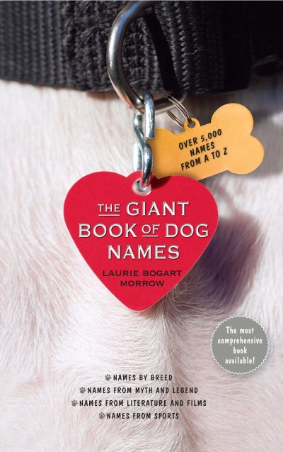 Laurie Bogart Morrow The Giant Book Of Dog Names Original