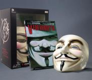 Alan Moore V For Vendetta Deluxe Collector Set [with Mask]