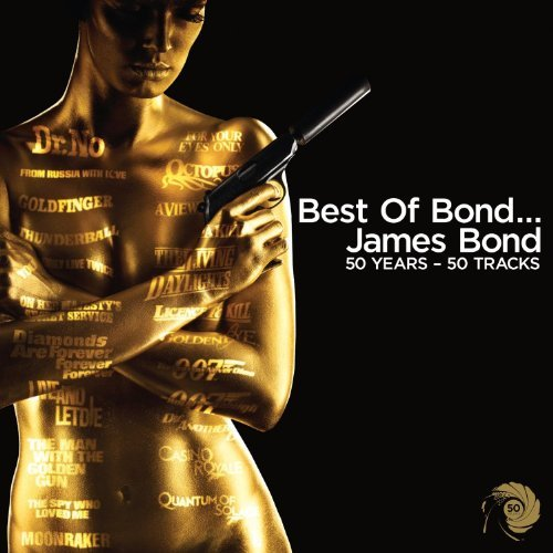 Best Of James Bond 50th Anniversary Soundtrack 2 CD