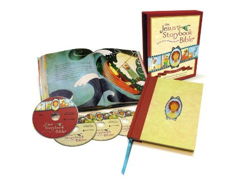 Sally Lloyd Jones The Jesus Storybook Bible Collector's Edition With Audio Cds And Dvds Special