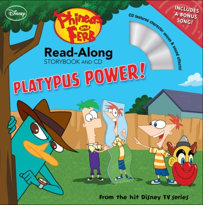 Disney Book Group Phineas And Ferb Read Along Storybook And CD Platy
