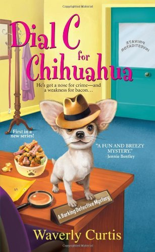 Waverly Curtis Dial C For Chihuahua