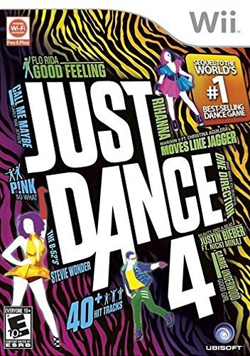 Wii Just Dance 4 Ubisoft E10+