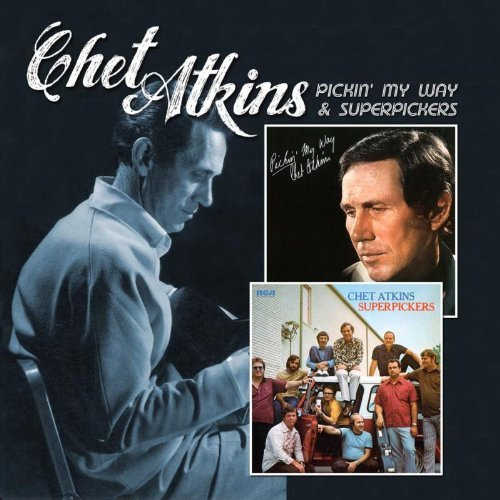 Atkins. Chet Pickin' My Way Superpickers 2 For 1