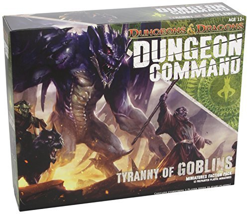 Wizards Rpg Team Dungeon Command Tyranny Of Goblins A Dungeons & Dragons Expansion