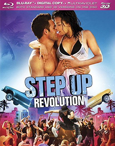 Step Up Revolution 2d 3d Mccormick Gabriel Gallagher Blu Ray 3d Ws Pg13 Incl. DVD Dc
