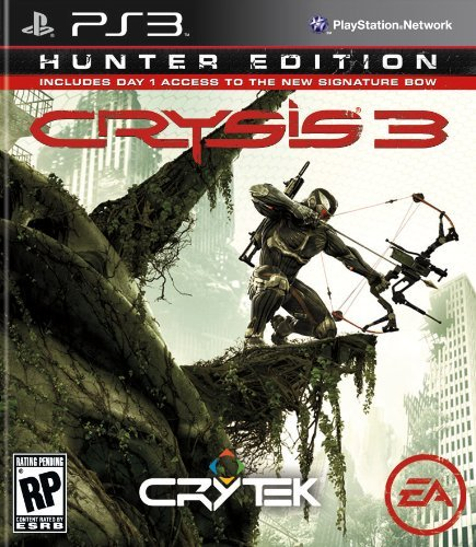 Ps3 Crysis 3 Hunter Edition Electronic Arts M