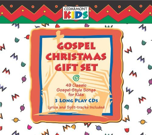 Cedarmont Kids Gospel Christmas Gift Set 3 CD