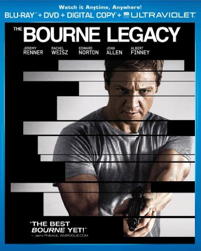 Bourne Legacy Renner Welsz Norton Blu Ray Ws Pg13 Incl. DVD Dc Uv