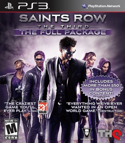 Ps3 Saints Row 3 The Full Package Thq Inc. M