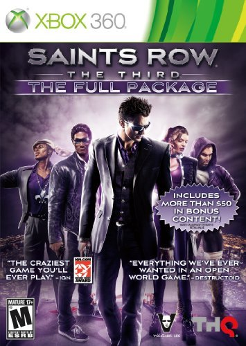 X360 Saints Row 3 The Full Package Thq Inc. Saints Row 3 The Full Package