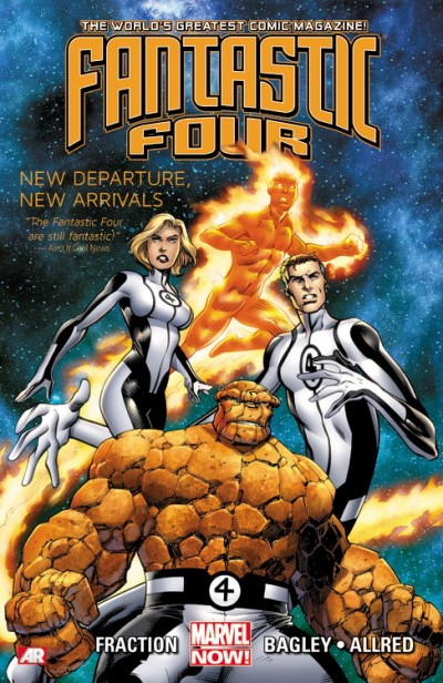 Matt Fraction Fantastic Four Volume 1 New Departure New Arrivals