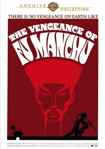 Vengeance Of Fu Manchu (1967) Lee Wilmer Chin DVD R Nr