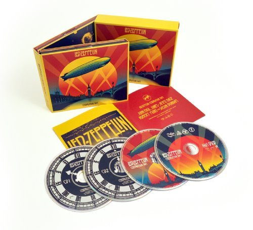 Led Zeppelin Celebration Day Deluxe Edition Deluxe Ed. 2 CD Incl 2 DVD