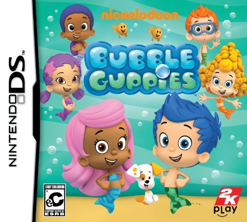 Nintendo Ds Nickelodeon Bubble Guppies