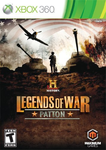Xbox 360 History Legends Of War Patton Maximum Games T