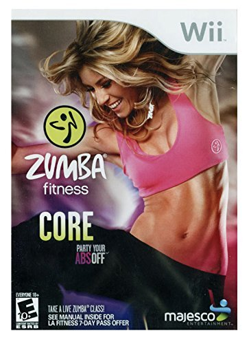 Wii Zumba Fitness Core Majesco Sales Inc. E10+