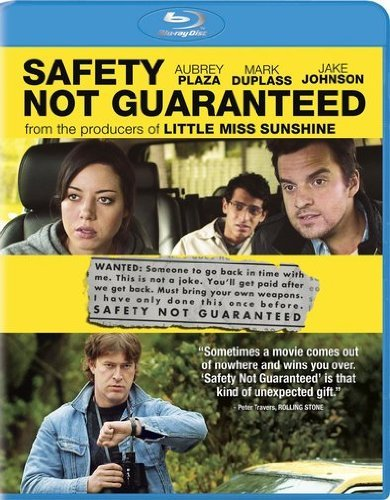 Safety Not Guaranteed Safety Not Guaranteed Blu Ray Aws R Incl. Uv
