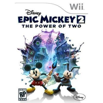 Wii Epic Mickey 2 The Power Of Two Disney Interactive Distri E