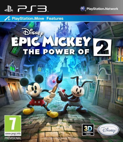Ps3 Epic Mickey 2 The Power Of Two Disney Interactive Distri E