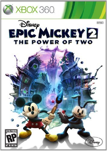Xbox 360 Epic Mickey 2 The Power Of Two Disney Interactive Distri E