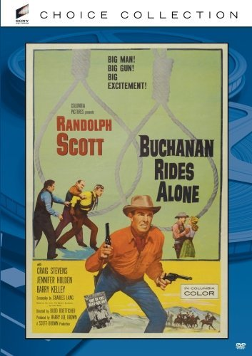 Buchanan Rides Alone (1958) Scott Whitney Stevens Made On Demand Nr