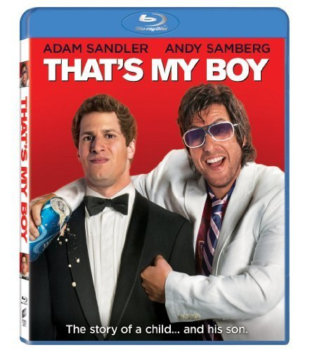 That's My Boy Sandler Samberg Blu Ray Aws R Incl. Uv