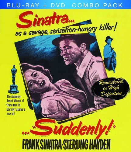 Suddenly (1954) Sinatra Hayden Blu Ray Ws Bw Nr Incl. DVD
