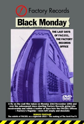 Factory Records Black Monday (the Last Days Of Nr