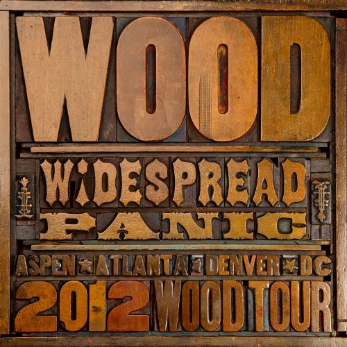 Widespread Panic Wood Digipak