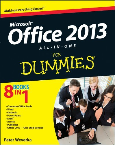 Peter Weverka Office 2013 All In One For Dummies