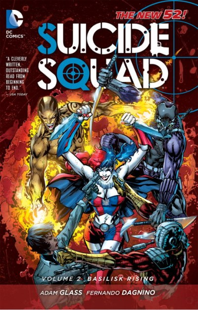 Adam Glass Suicide Squad Vol. 2 Basilisk Rising (the New 52)