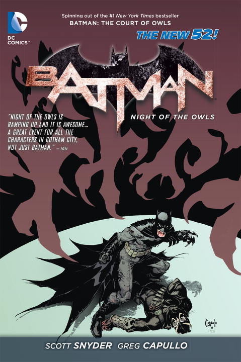 Various Batman Night Of The Owls (the New 52)