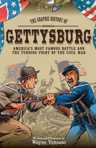 Wayne Vansant Gettysburg The Graphic History Of America's Most Famous Batt First Edition