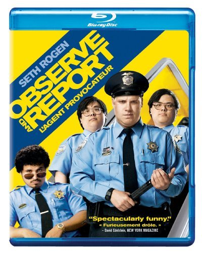 Observe & Report Rogen Faris Pena Weston Blu Ray