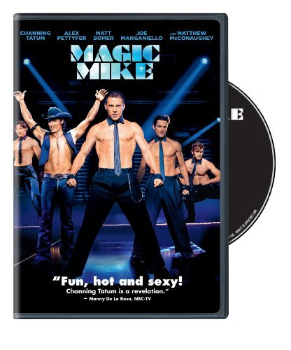 Magic Mike Tatum Pettyfer Mcconaughey DVD R
