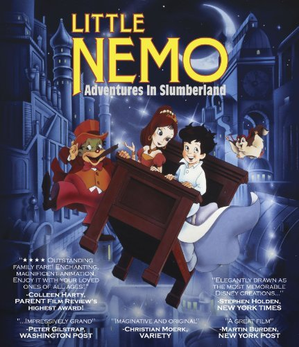 Little Nemo Adventures In Slumberland Rooney Auborjonois Damon Blu Ray Ws Nr