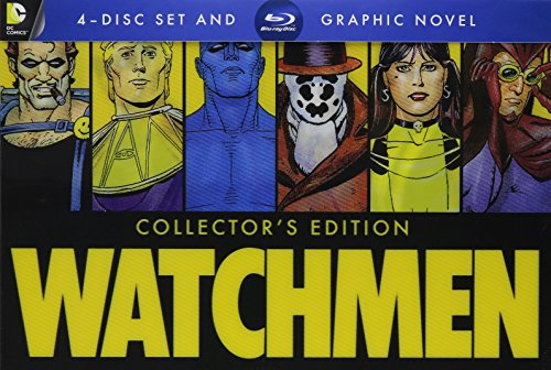 Watchmen Watchmen Ws Blu Ray Ultimate Cut R Incl. Graphic Novel