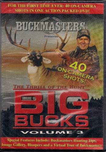 Buckmasters Thrill Of The Hunt Big Bucks Vol.