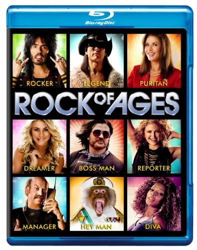 Rock Of Ages Hough Cruise Brand Movie Only+ultraviolet Digital Copy