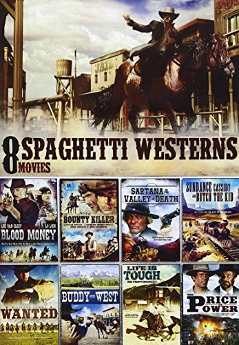 8 Movie Spaghetti Western Pack 8 Movie Spaghetti Western Pack Nr 2 DVD