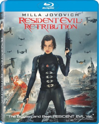 Resident Evil Retribution Jovovich Guillory Rodriguez Blu Ray Dc R